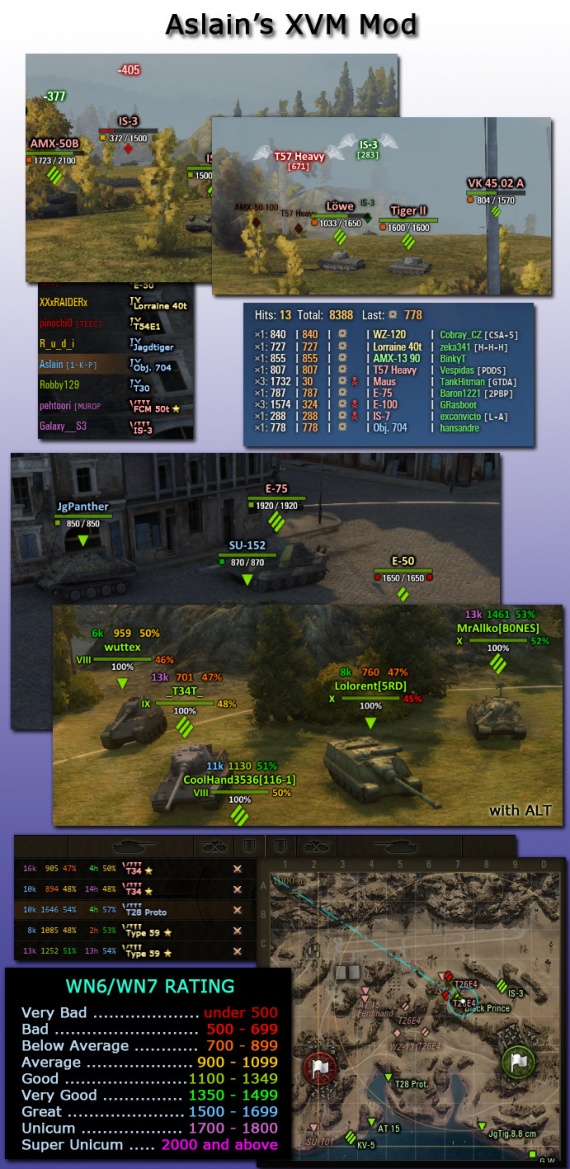 Aslain's Modpack v00 for WoT 9 19 1 1 |download mods |