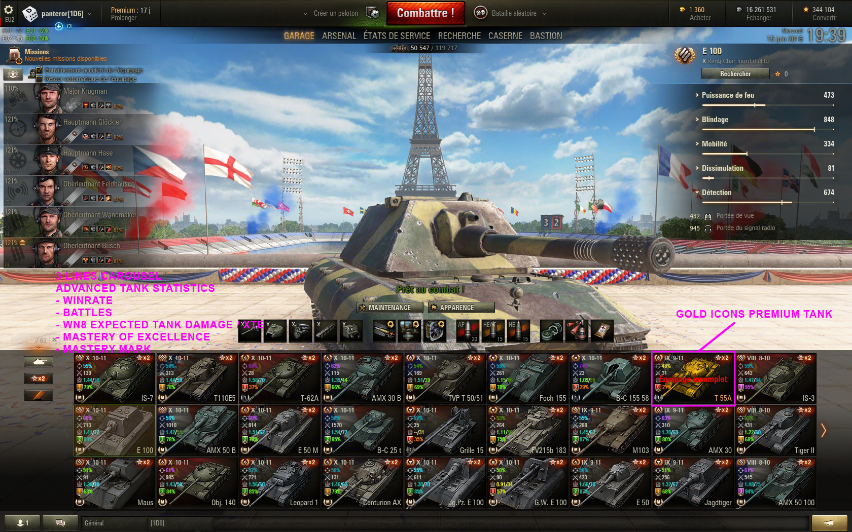 wot mod pack solo