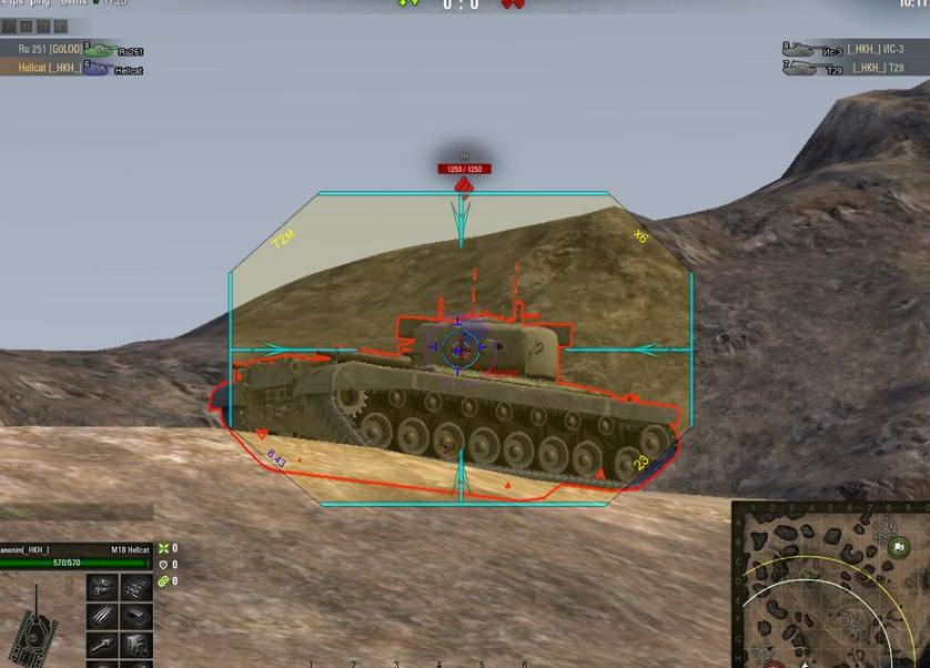 New Shock Triz Scope for World of Tanks 0 9 18 |download mods |